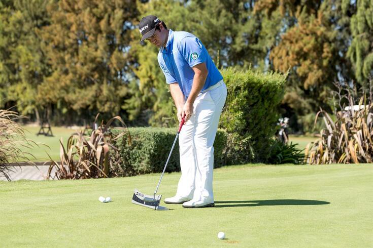 Ricardo Melo Gouveia é quinto colocado no Challenge de Itália em golfe