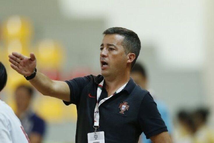 O selecionador Luís Conceição