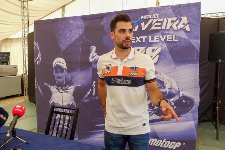 Miguel Oliveira confiante para o regresso da MotoGP