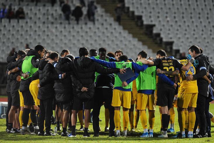 Sérgio Conceição transmitiu mensagem ao grupo após o empate com o Belenenses