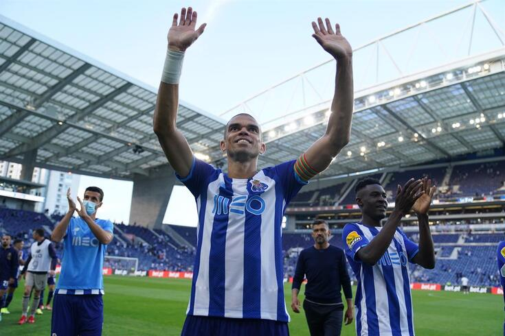 Pepe, jogador do FC Porto