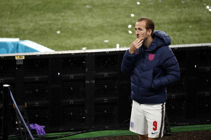 Harry Kane, capitão da seleção inglesa
