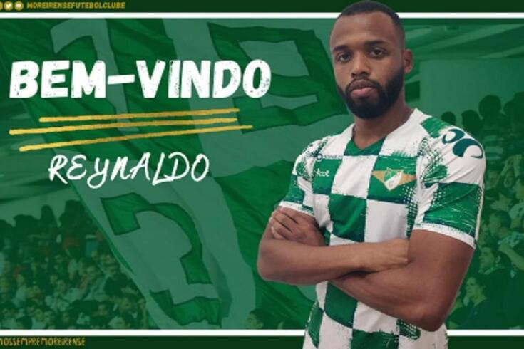 Defesa Reynaldo rescinde contrato com o Moreirense