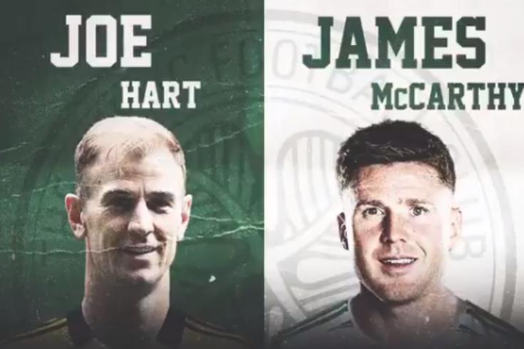 Celtic contrata na Premier League: Joe Hart e James McCarthy