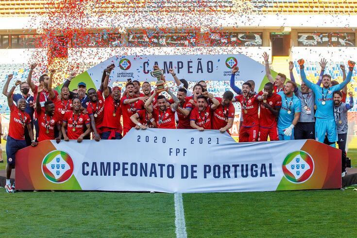 Trofense venceu a última edição do Campeonato de Portugal