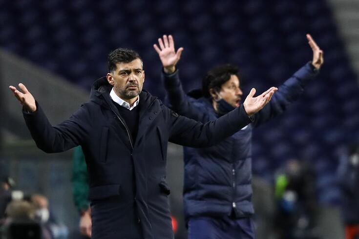 Porto, 17/02/2021 - O Fc Porto recebeu esta noite a Juventus Football Club no estádio do Dragão, em jogo