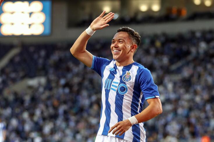 Pepê, extremo que o FC Porto contratou ao Grémio