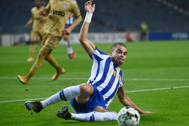 Pepe, capitão do FC Porto