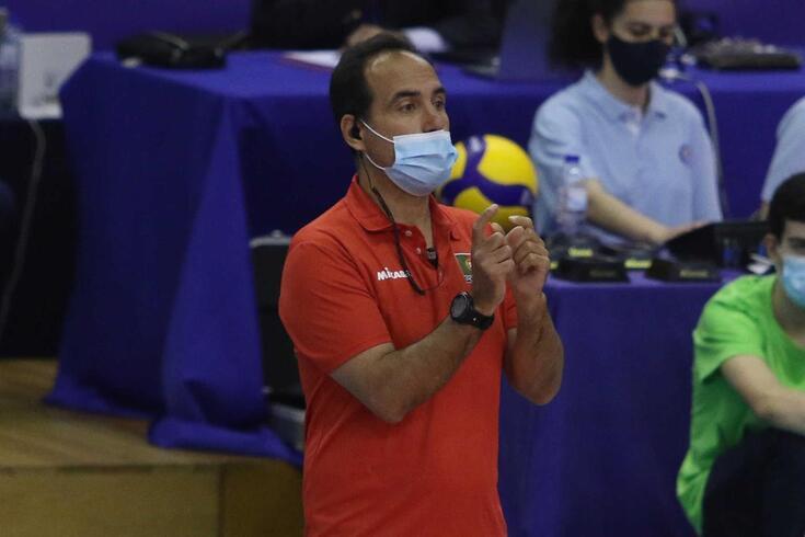 Hugo Silva, selecionador de Portugal