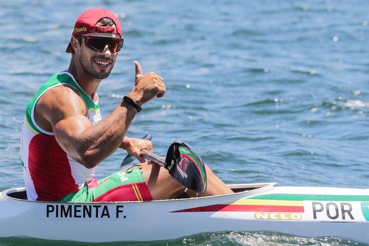 Fernando Pimenta alcançou o bronze em K1 1000