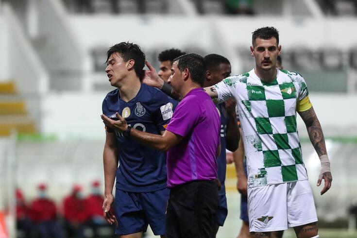 Hugo Miguel dirigiu o Moreirense-FC Porto