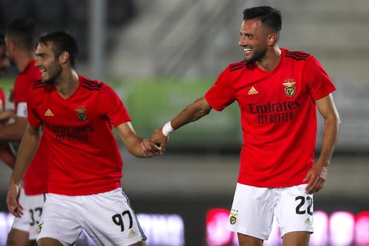 Samaris marcou o golo da vitória do Benfica