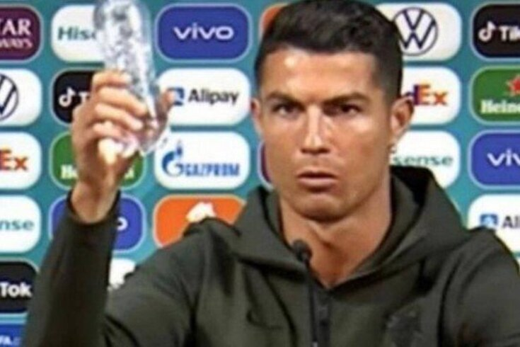 Cristiano Ronaldo e o momento que tanto tem dado que falar