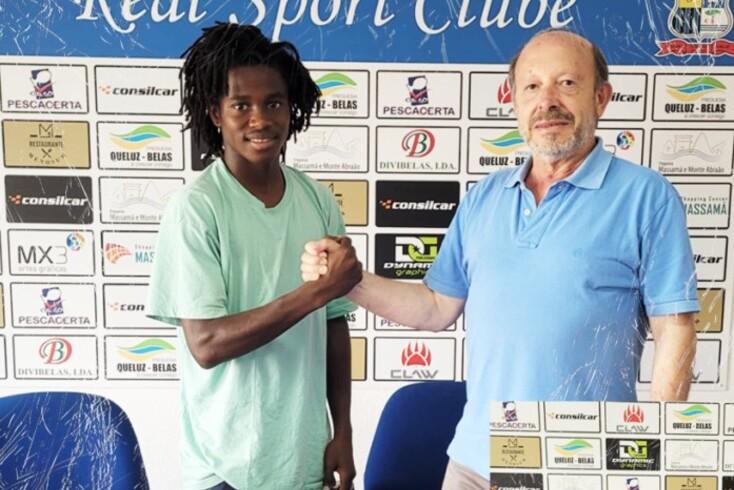 Amadu Baldé, jovem jogador do Real SC