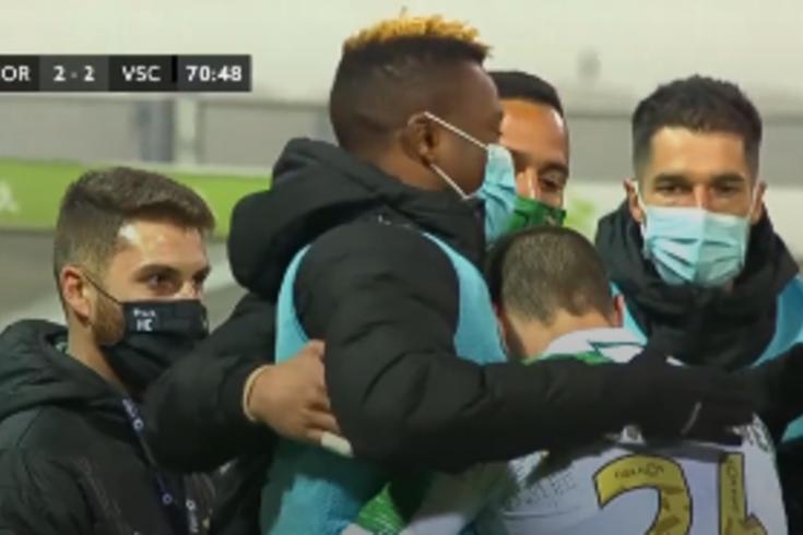 Moreirense chega a empate e o marcador do golo já tinha sido substituído