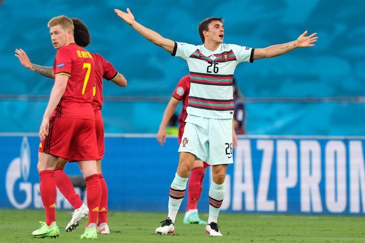 Palhinha lamentou derrota com a Bélgica
