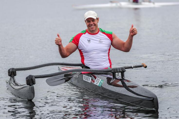 Norberto Mourão alcançou o bronze para Portugal