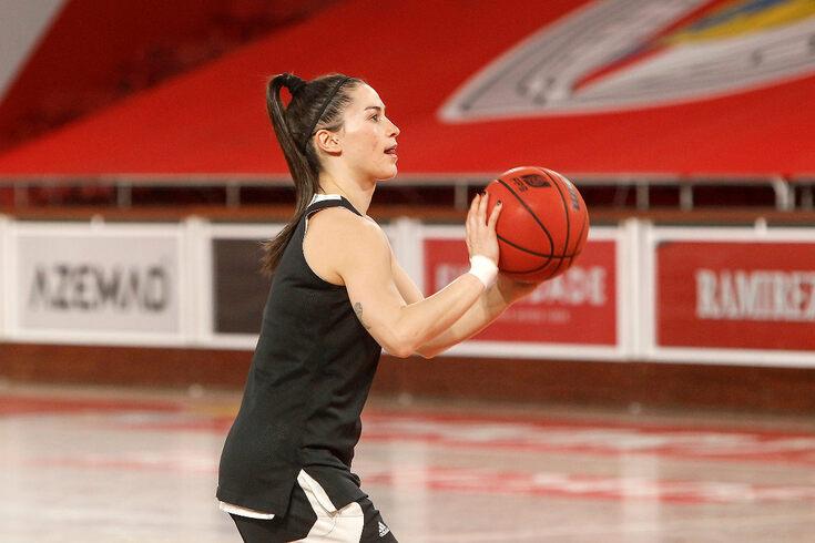 Joana Soeiro, atleta do Benfica