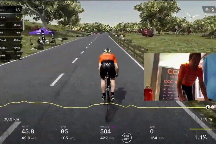 Van Avermaet venceu a Volta a Flandres virtual