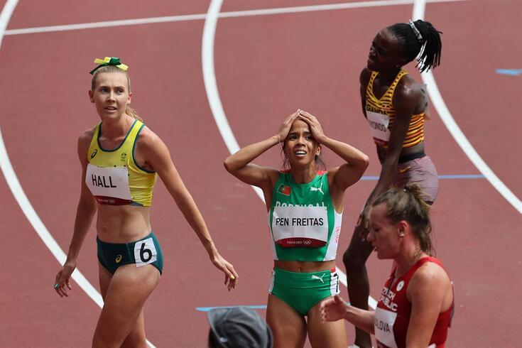 Marta Pen segue para as meias-finais dos 1500 metros