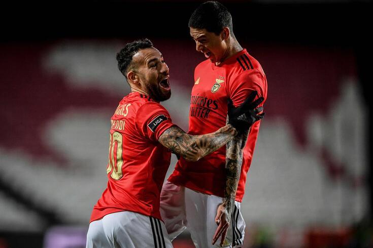 Darwin de volta aos bons momentos e focado no Benfica