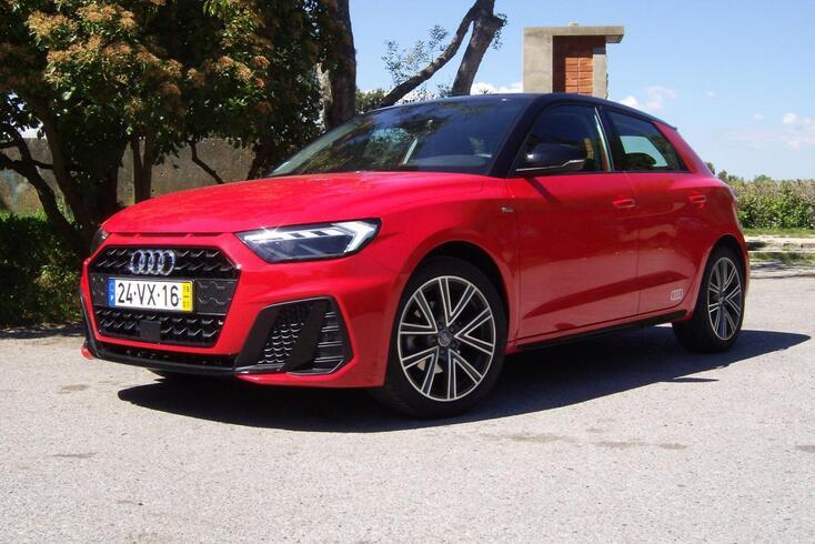 Audi A1 Sportback 30 TFSI 116 S Line: Prova de evolução