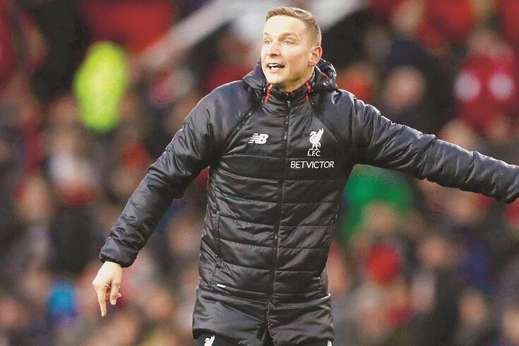 Pepijn Lijnders, treinador adjunto do Liverpool, que já trabalhou no FC Porto