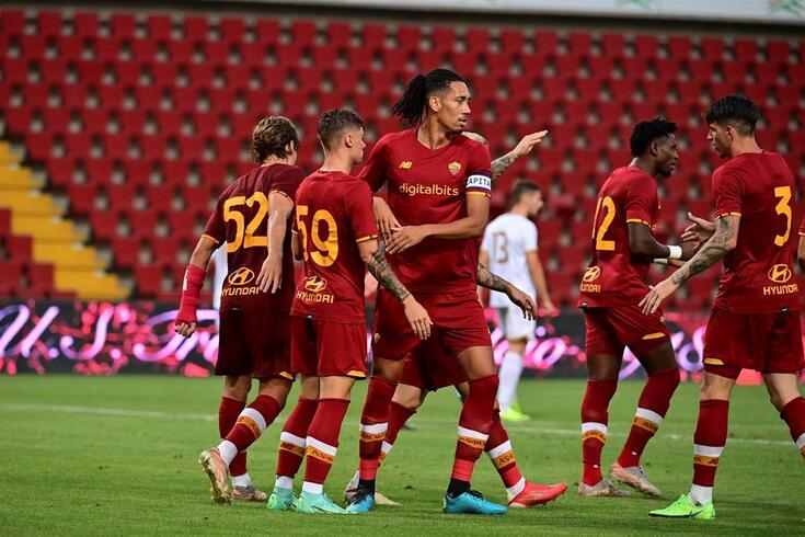 Roma bateu o Triestina por 1-0