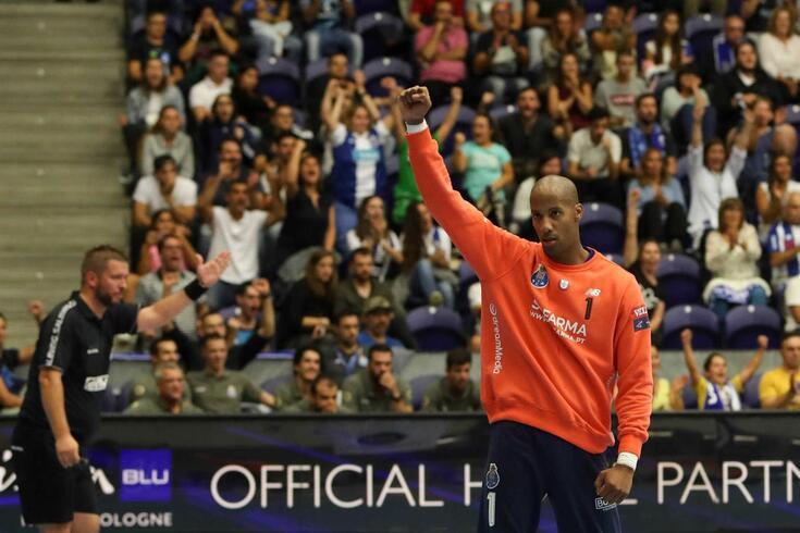 Alfredo Quintana, guarda-redes do FC Porto e da Seleção de andebol