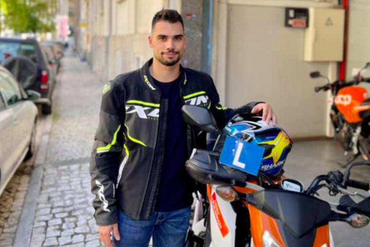 Miguel Oliveira, piloto português de MotoGP