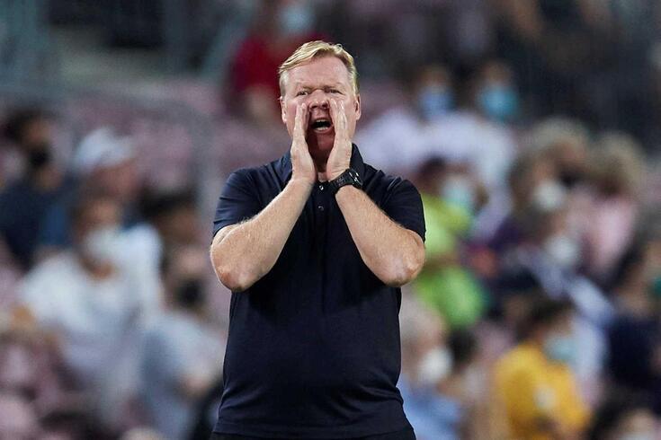 Ronald Koeman, treinador do Barcelona