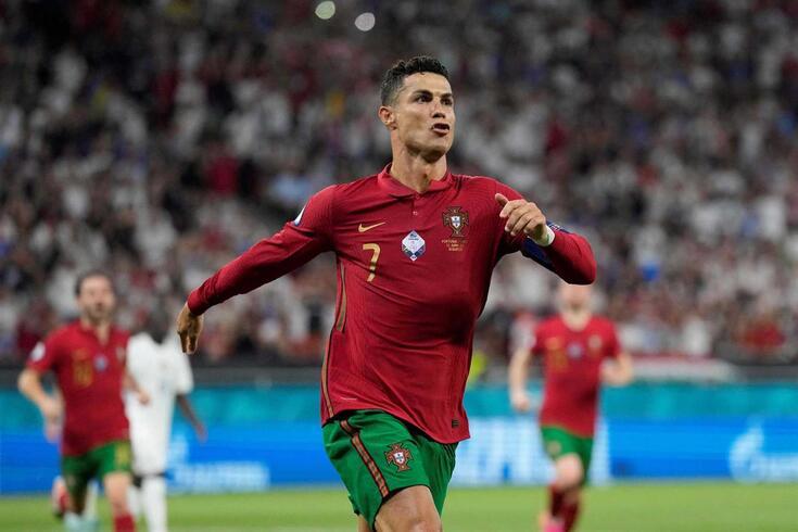 Ronaldo já apontou cinco golos no Euro'2020