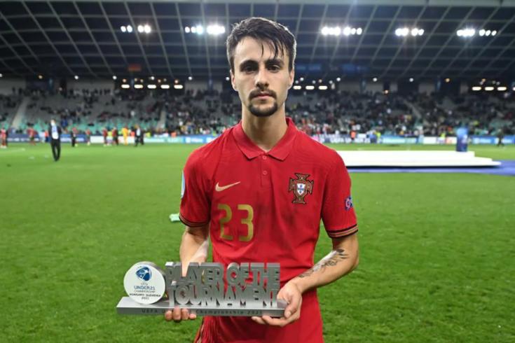 Fábio Vieira brilhou no Europeu de sub-21