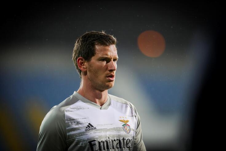 Vertonghen cumpriu a primeira época no Benfica