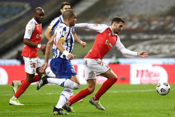 Porto, 03/03/2021 - O Futebol Clube do Porto recebeu esta tarde o Sporting Clube de Braga, no Estádio