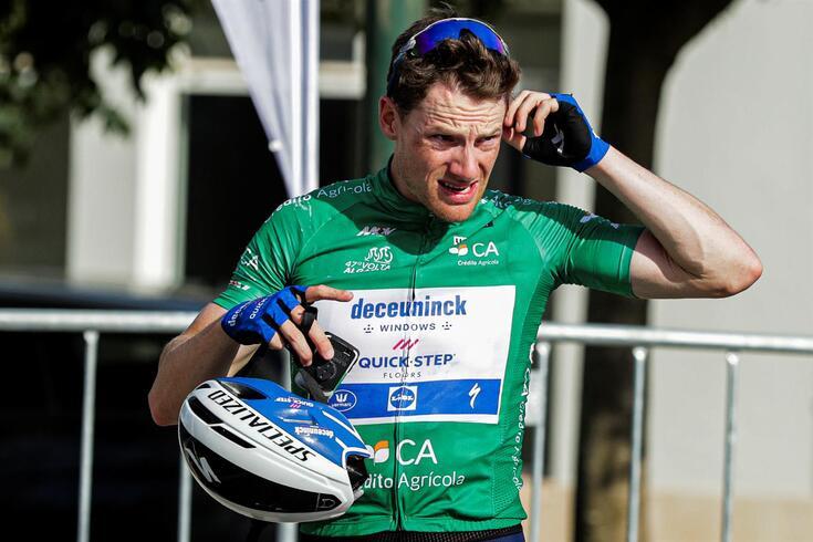 Sam Bennett, sprinter irlandês