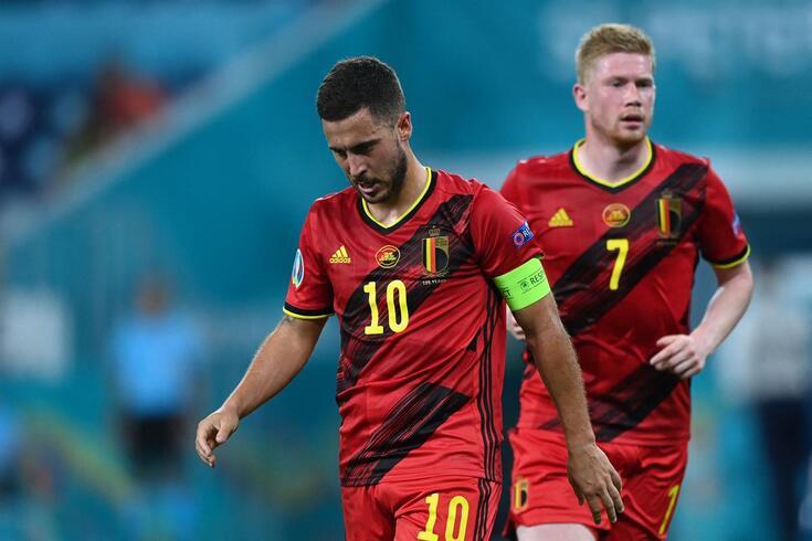 Hazard no onze inicial é uma das dúvidas da Bélgica