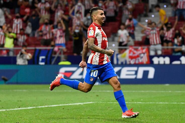 Angel Correa, avançado do Atlético de Madrid