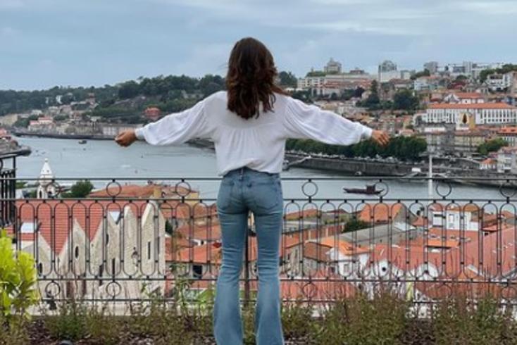 """O regresso de Sara Carbonero ao Porto: """"A cidade mais bonita do mundo"""""""