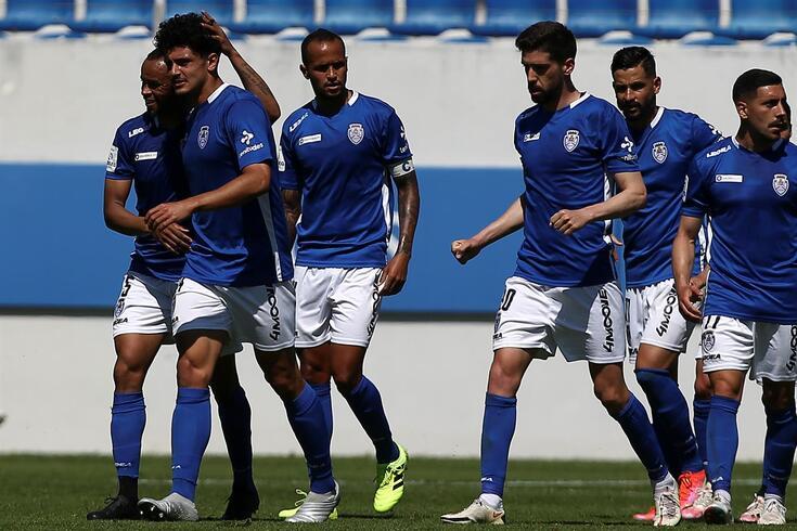 Feirense somou três pontos na luta pela subida