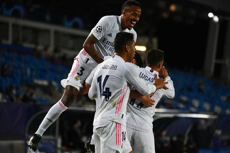 Real Madrid mantém-se na Champions 2020/21