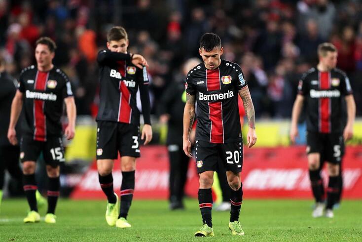 Bayer Leverkusen caiu da Liga dos Campeões