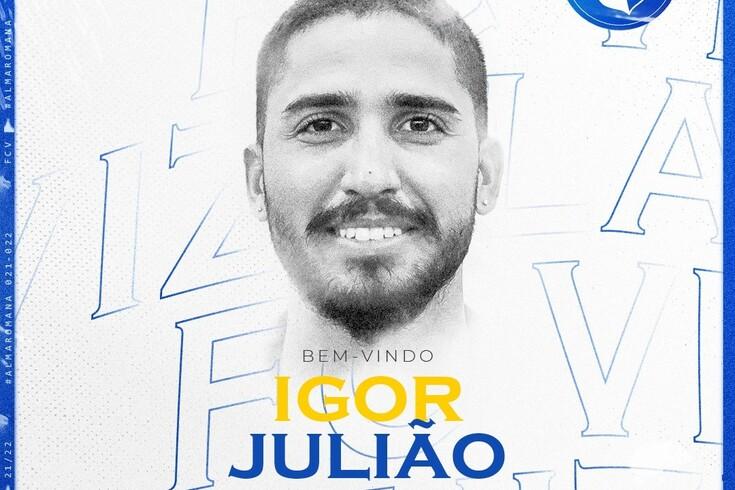 Vizela oficializa chegada de Igor Julião para a defesa