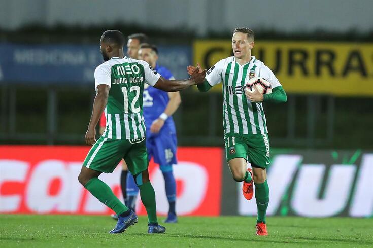 Nuno Santos, do Rio Ave, marcou no empate com o FC Porto