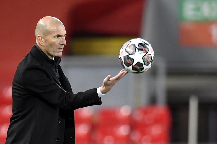 Zidane, treinador do Real Madrid
