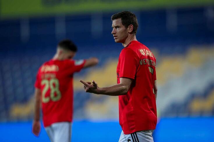 Jan Vertonghen, central do Benfica