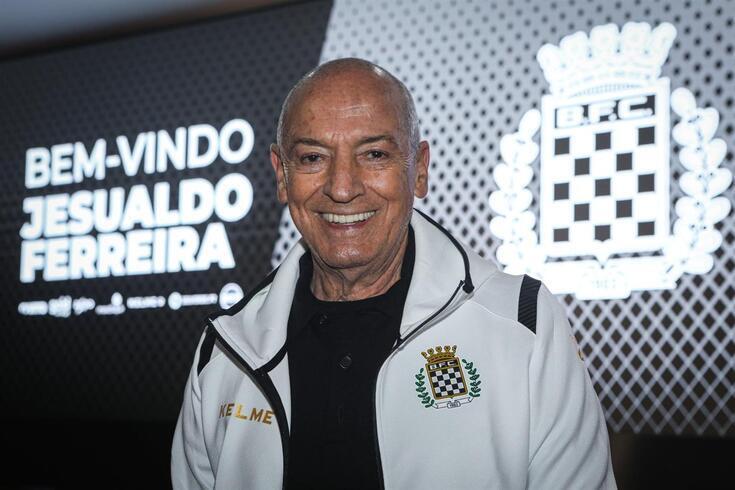 Jesualdo vai orientar o segundo jogo no banco do Boavista
