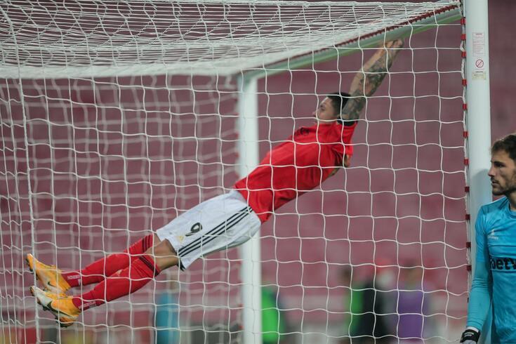 Darwin chegou ao Benfica na época 2020/21