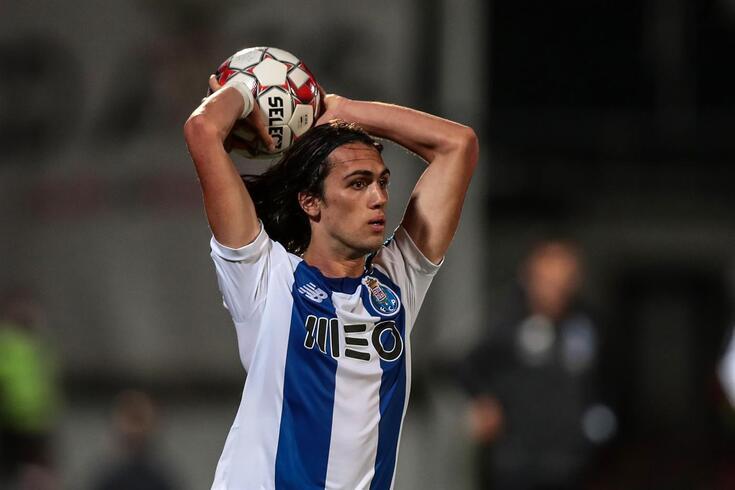Tomás Esteves foi titular frente ao Aves e Boavista