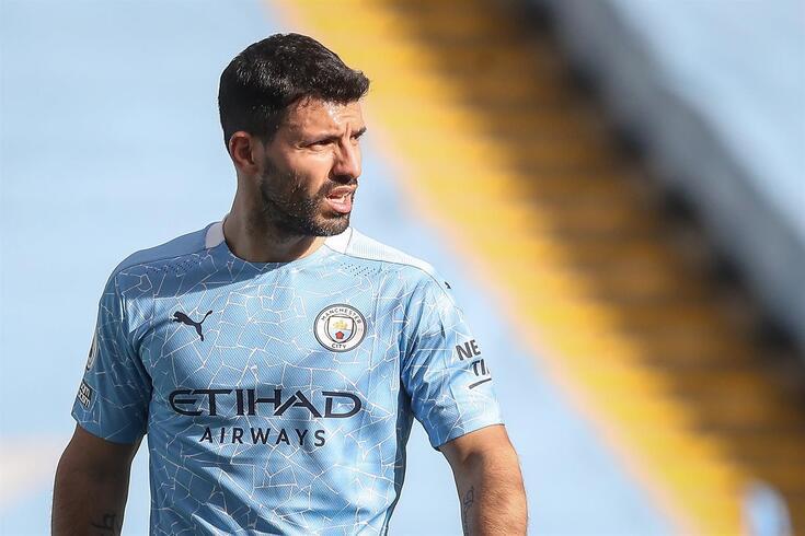 Aguero está em final de contrato com o Manchester City